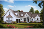Arts & Crafts House Plan Front of House 056S-0011