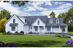 Luxury House Plan Front of House 056S-0012