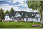 Arts & Crafts House Plan Front of House 056S-0013