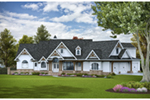 Mountain Home Plan Front of House 056S-0015