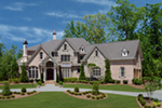 European House Plan Front of House 056S-0020