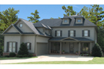 Traditional House Plan Front of House 056S-0023