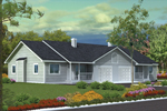 Duplex With Cozy Front Porch