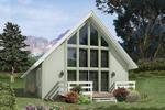 Stylish A-Frame Home