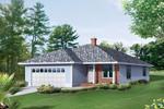 Attractive Porch Graces Ranch Home