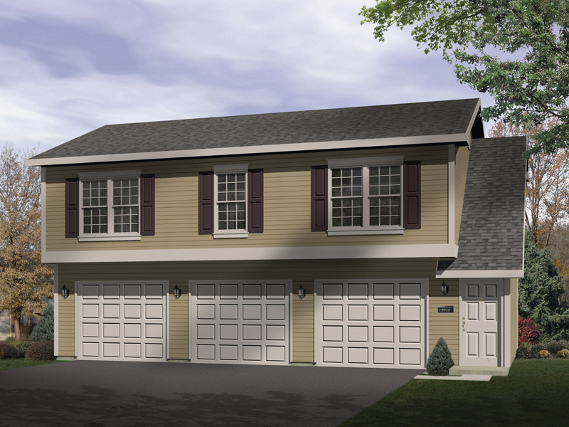 Sidney Large Apartment Garage Plan 058D-0137 | House Plans ...