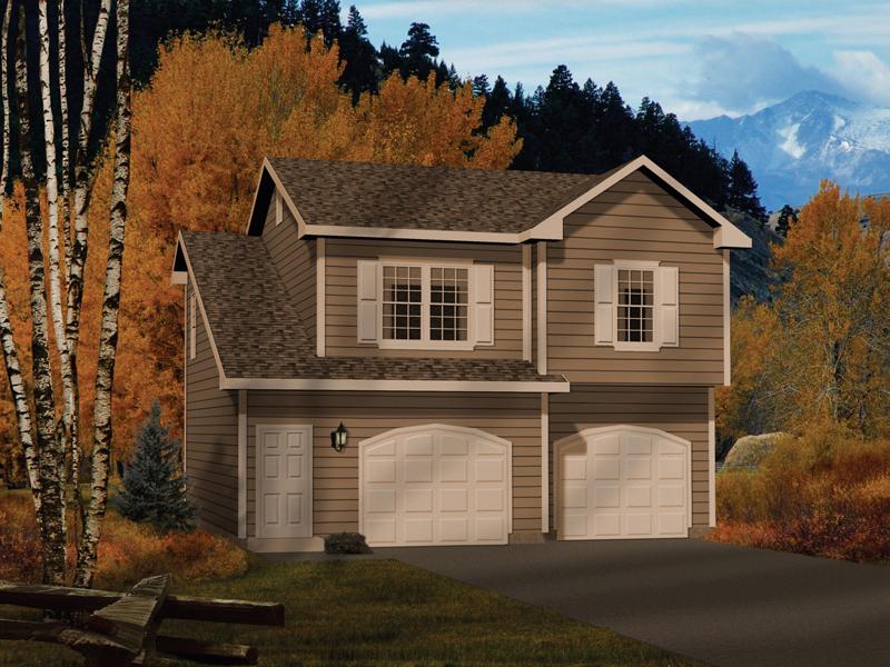 Alec Two-Car Apartment Garage Plan 058D-0146 | House Plans ...