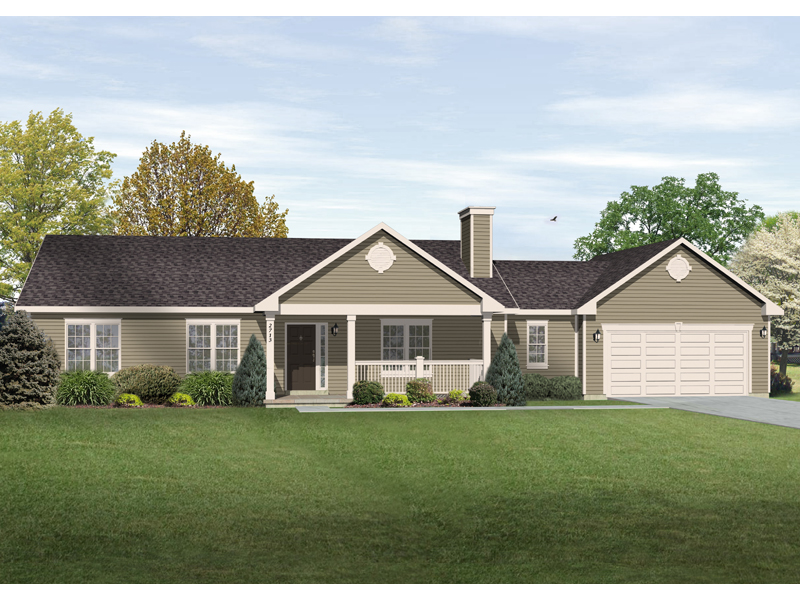 Wilton Ranch Home Plan 058D 0175 House Plans and More