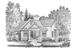 Shingle House Plan Front Image of House - Mill River Cottage Home 058D-0195 | House Plans and More