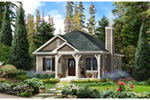 Country House Plan Front of House 058D-0198