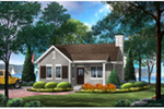 Craftsman House Plan Front of House 058D-0202