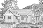 Shingle House Plan Front Image of House - Kemp Woods Country Home 058D-0204 | House Plans and More