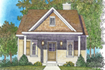 Country House Plan Front of House 058D-0207