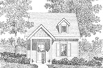 Ranch House Plan Front Image of House - Orsen Creek Country Cabin 058D-0209 | House Plans and More