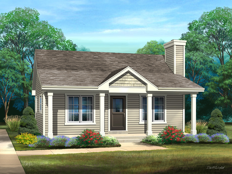 Craftsman House Plan Front of Home - 058D-0212 | House Plans and More