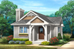 Mountain Home Plan Front of House 058D-0213