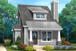 Craftsman House Plan Front of House 058D-0214