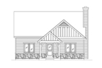 Country House Plan Front of House 058D-0218