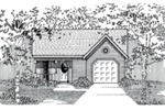 Traditional House Plan Front of House 060D-0118