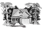Traditional House Plan Front of House 060D-0122
