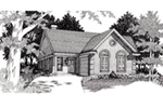 Country House Plan Front of House 060D-0126