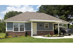 Traditional House Plan Front of House 060D-0129