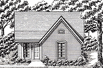 Country House Plan Front of House 060D-0133