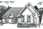 Southern House Plan Front of House 060D-0135