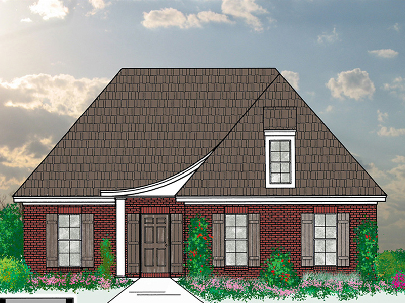 Country House Plan Front of Home -  060D-0168 | House Plans and More