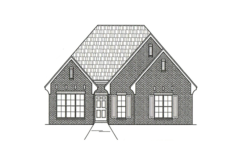 European House Plan Front of Home -  060D-0180 | House Plans and More