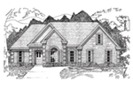 Traditional House Plan Front of Home - 060D-0195 | House Plans and More