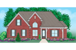 Ranch House Plan Front of Home -  060D-0236 | House Plans and More