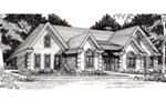 Traditional House Plan Front of Home -  060D-0257 | House Plans and More
