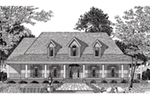 Southern Plantation House Plan Front of Home - 060D-0279 | House Plans and More