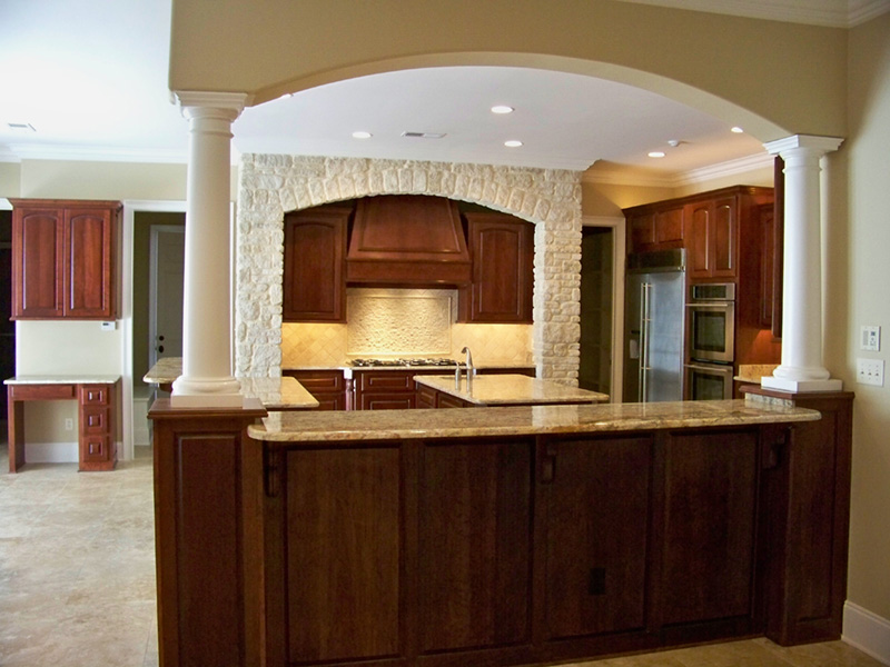 Traditional House Plan Kitchen Photo 01 -  060D-0518 | House Plans and More