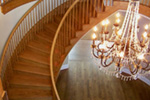 Traditional House Plan Stairs Photo -  060D-0518 | House Plans and More
