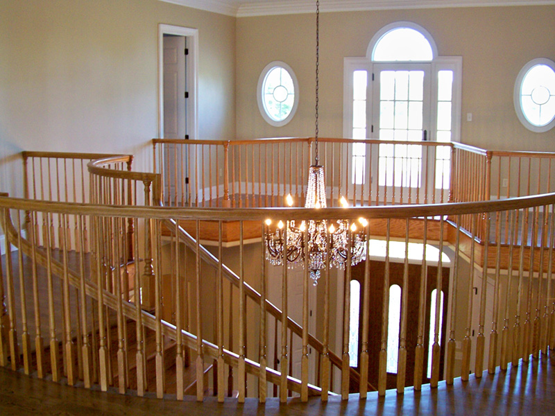 Traditional House Plan Stairs Photo 02 -  060D-0518 | House Plans and More