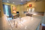 Neoclassical Home Plan Kitchen Photo 02 -  060D-0535   House Plans and More