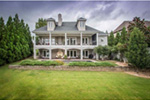 Neoclassical Home Plan Rear Photo 01 -  060D-0535   House Plans and More