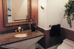 Sunbelt Home Plan Bathroom Photo 01 - Elsah Landing Luxury Home 062D-0016 | House Plans and More