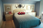 Sunbelt Home Plan Bedroom Photo 01 - Elsah Landing Luxury Home 062D-0016 | House Plans and More