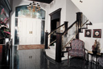 Sunbelt Home Plan Foyer Photo - Elsah Landing Luxury Home 062D-0016 | House Plans and More