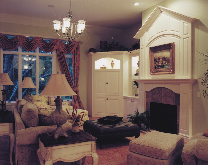 Arts & Crafts House Plan Fireplace Photo 01 - Hungerford Trail Craftsman Home 065D-0041 | House Plans and More