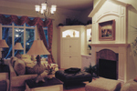 Shingle House Plan Fireplace Photo 01 - Hungerford Trail Craftsman Home 065D-0041 | House Plans and More