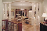 Shingle House Plan Great Room Photo 01 - Hungerford Trail Craftsman Home 065D-0041 | House Plans and More