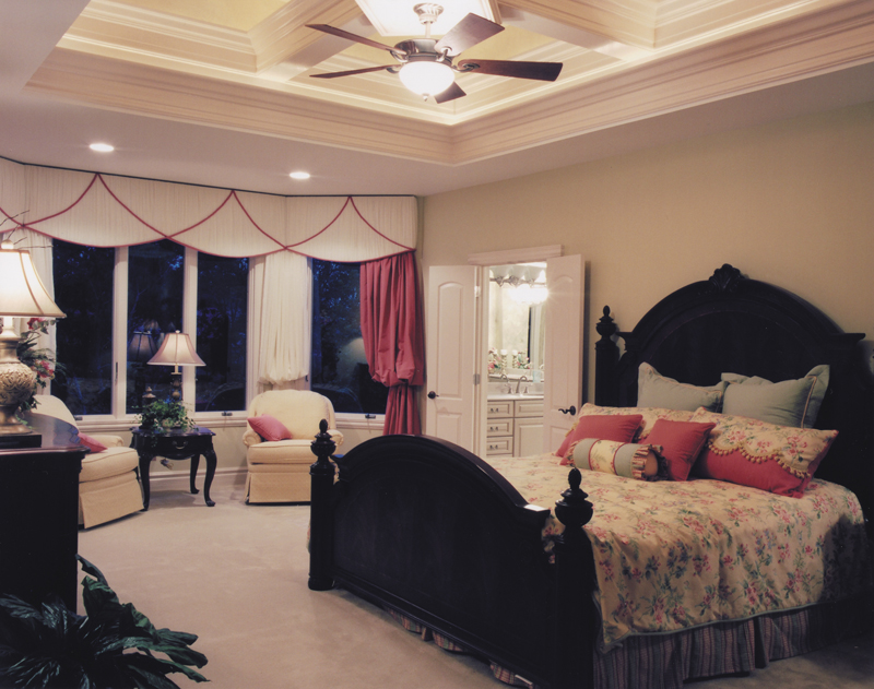 Shingle House Plan Master Bedroom Photo 01 - Hungerford Trail Craftsman Home 065D-0041 | House Plans and More