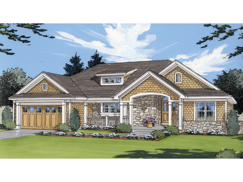 Carson Hill Craftsman Home Plan 065D-0065 | House Plans and More