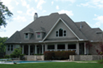 Luxury House Plan Rear Photo 01 - Danzig European Luxury Home 067S-0002   House Plans and More