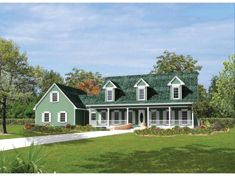 Berryridge Cape Cod Style Home Plan 068d 0012 House Plans And More