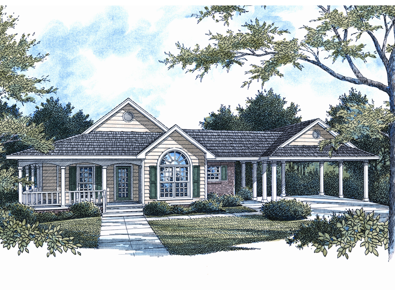 Creekpoint Country Ranch Home Plan 069D-0098 | House Plans ... on bathroom remodeling from 1980s, bathroom modern country designs, bathroom shower ideas, bathroom remodeling ideas for ranch style home,